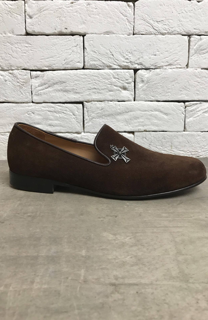AC Loafer - Brown Suede