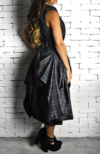 Tartan Hitched Raven Dress | Unique Dresses | Alex Christopher