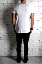 Directional Drape T-Shirt - White