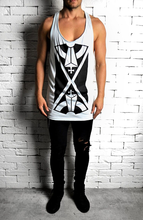 Duck Egg Directional X Vest | Mens Vests | Alex Christopher Clothing