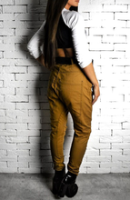 Tan High Waisted Twisted Jeans | Women's Jeans | Alex Christopher
