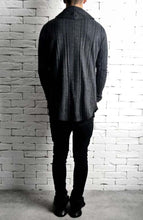 Knitted Cardigan - Charcoal