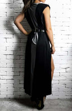 Silver Maxi V Dress | Unique Dresses | Alex Christopher Clothing