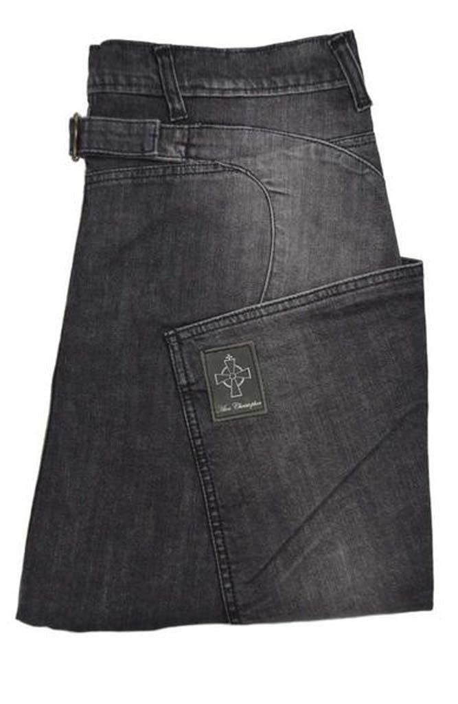 Black Side Pocket Jeans | Drop Crotch Jeans | Alex Christopher