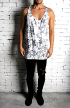 Sketch Logo Scatter Ibiza Vest | Mens Vests | Alex Christopher