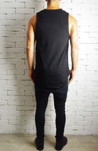 Square Neck Vest - Black