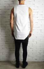 Square Neck Vest - White