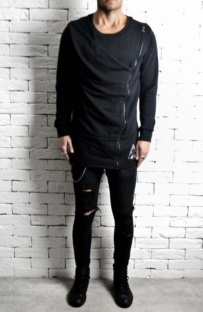 Alex Christopher Zipped Jumper