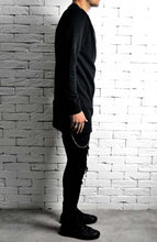 Black Zipped Jumper | Mens Jumpers and Hoodies | Alex Christopher