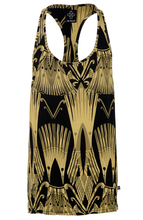 Sketch Logo Ibiza Vest - Black/Gold