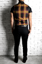 Maroon Tartan Waistcoat | Unique Menswear | Alex Christopher