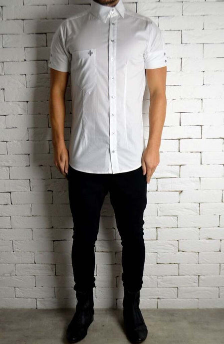 Alex Christopher Side Button Shirt