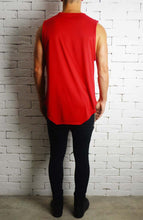 Square Neck Vest - Red
