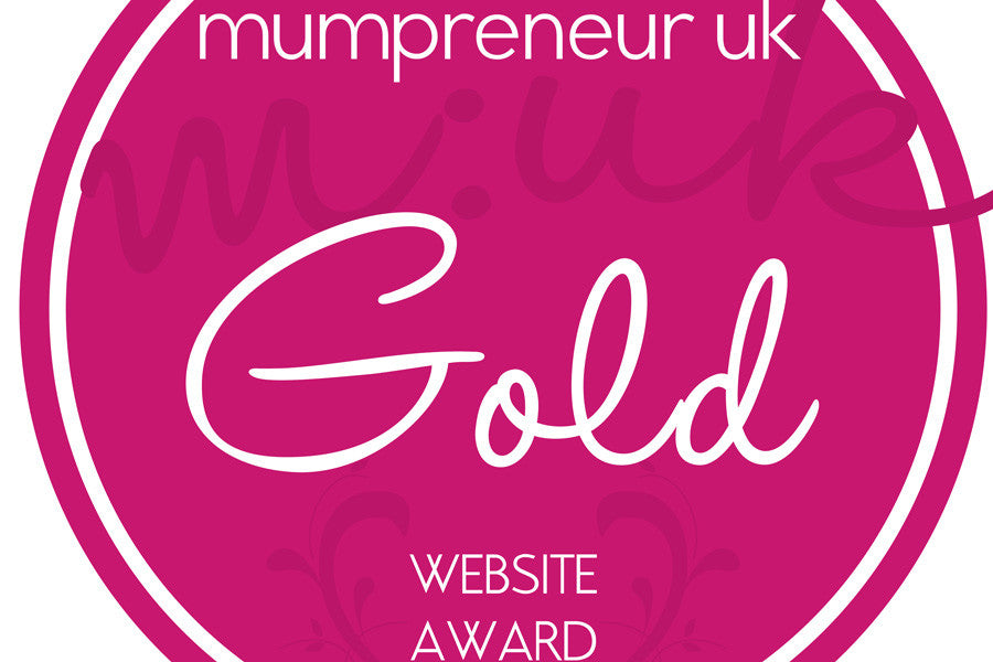 Natural Curtain Fabric Store Wins Mumpreneur UK GOLD AWARD