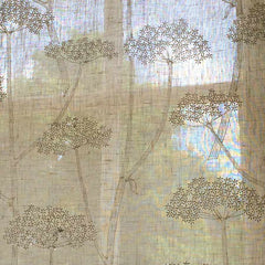 Pretty Embroidered Curtain Panels for Quintessentially English Style