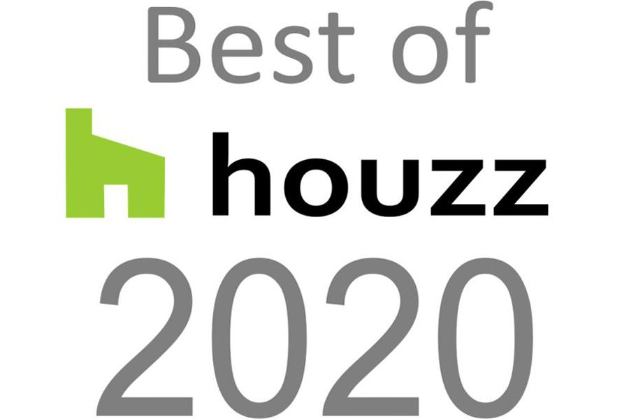 Winners for Best of Houzz Customer Service Award 2020 - third year!