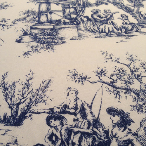 toile cotton fabric