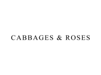 cabbages and roses fabric supplier