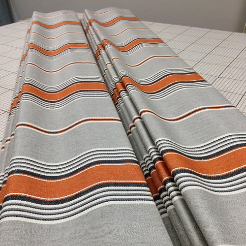 roman blinds suffolk stripe fabric Romo