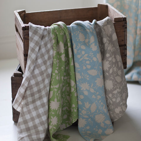 natural linen fabrics for bespoke curtains and blinds