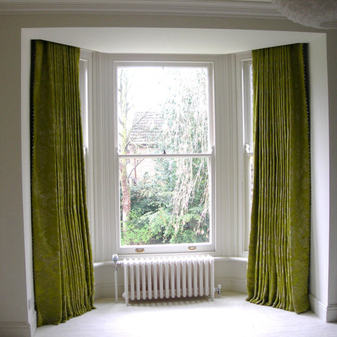 designer curtains by bespoke curtain makers, Suffolk