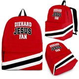 DieHard Jesus Fan Backpack