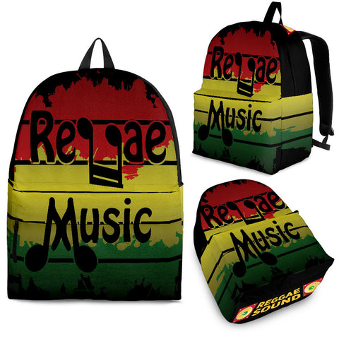 REGGAE MUSIC PREMIUM BACKPACK