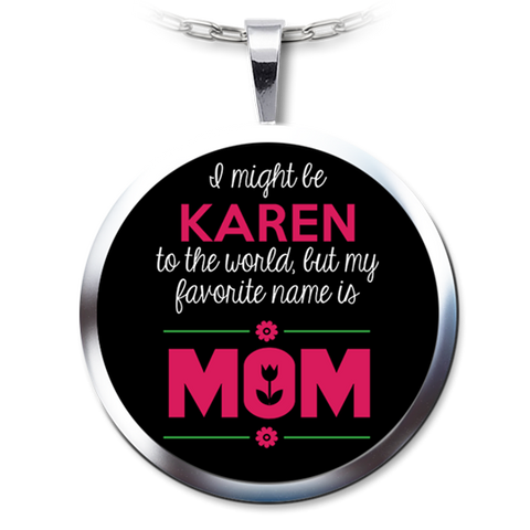 Mom Necklace Pendant