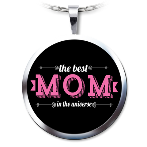 Best Mom Necklace Pendant