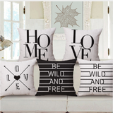 Be Wild Pillow covers - free shipping