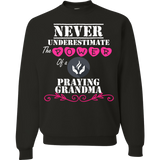 A - Never underestimate Praying Grandma