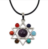 Chakras Yoga Necklace - free shipping