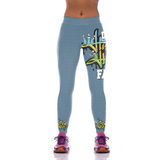 Die Hard Hip Hop Fan Leggings 3