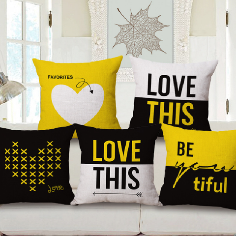 A LoveTag Pillow Covers - free shipping