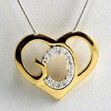 GOD Heart Necklace