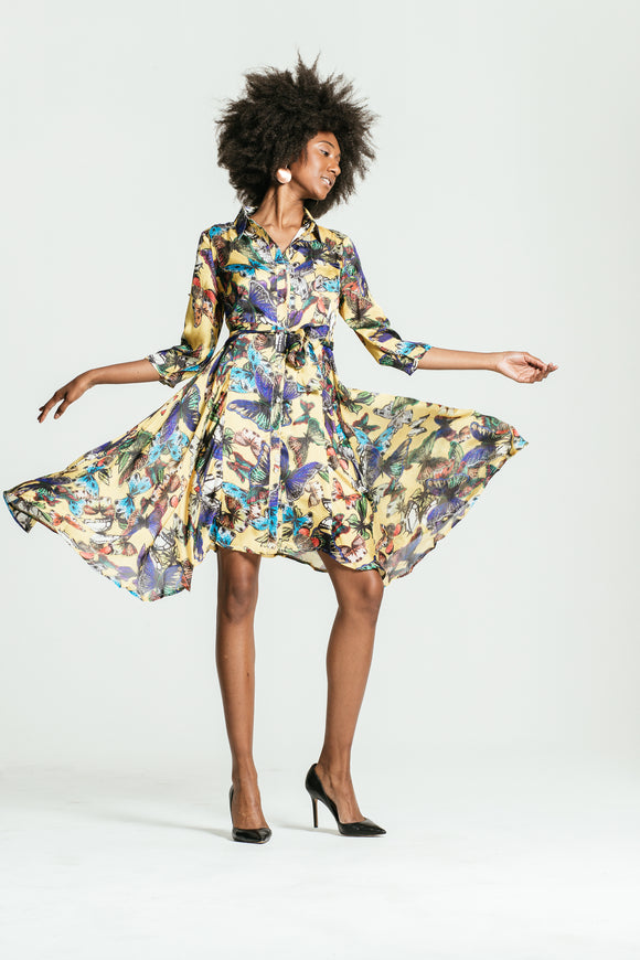 Choko's Basic Floral Dress