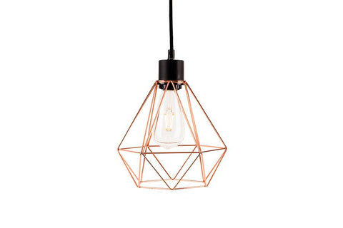 Geo Copper Lamp Shade