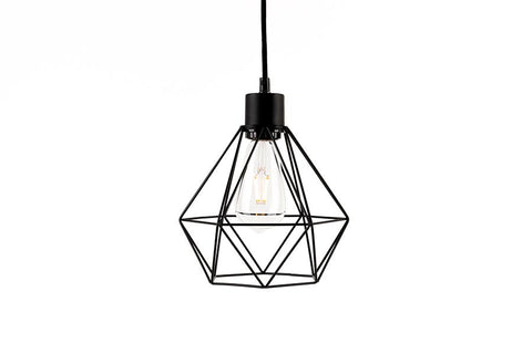Geo Black Lamp Shade