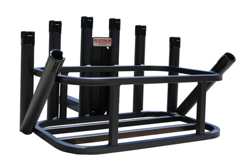 Fishing Rod Rack with Hitch Mount