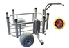 Surf Fishing Cart with Detachable Receiver Hitch