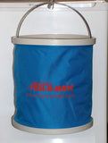 Fish N Mate Blue Folding Bucket