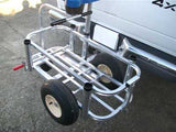 Reels on Wheels Fishing Cart Caddy