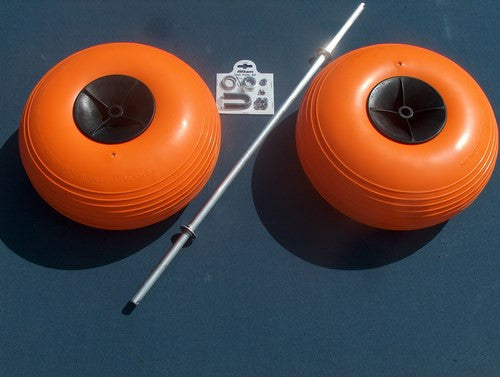 Poly Wheel Conversion Kit for Fish N Mate Fishing Carts