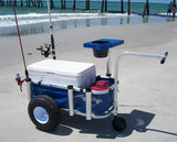 Fishing cart with accessories