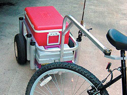 Bicycle Hitch for Fishing Cart