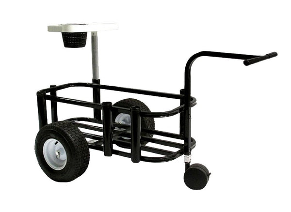 Black fishing cart