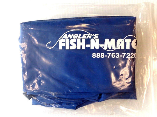 Blue Vinyl Cart Liner for Fish N Mate Large Beach Fishing Cart by Angler's