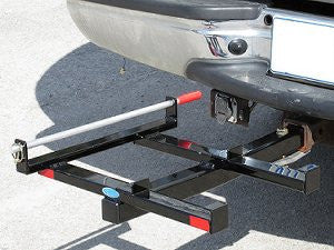 Black fishing cart caddy by Reels On Wheels