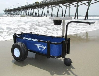 Blue fishing cart liner for Reels on Wheels Sr.