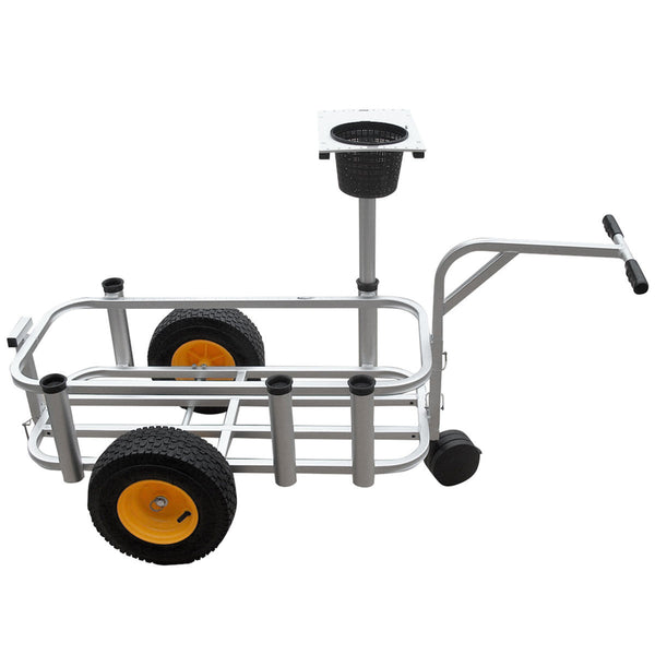 Fish N Mate fishing cart with front wheel